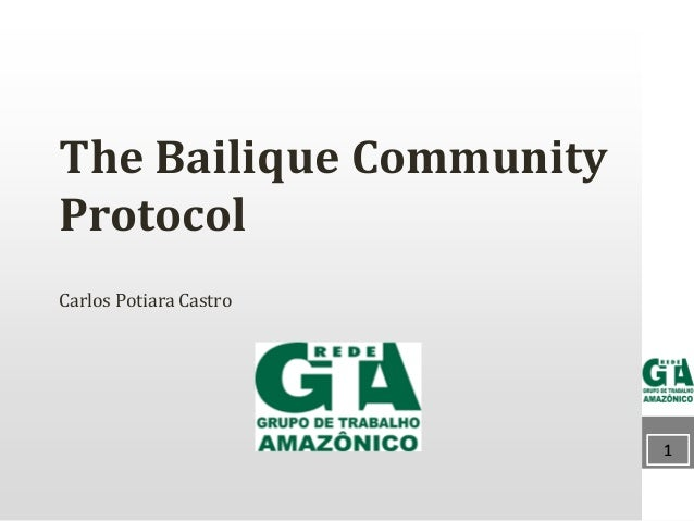 1111 The Bailique Community Protocol Carlos Potiara Castro