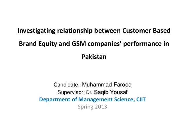 thesis on the relationship of brand equity and brand extension