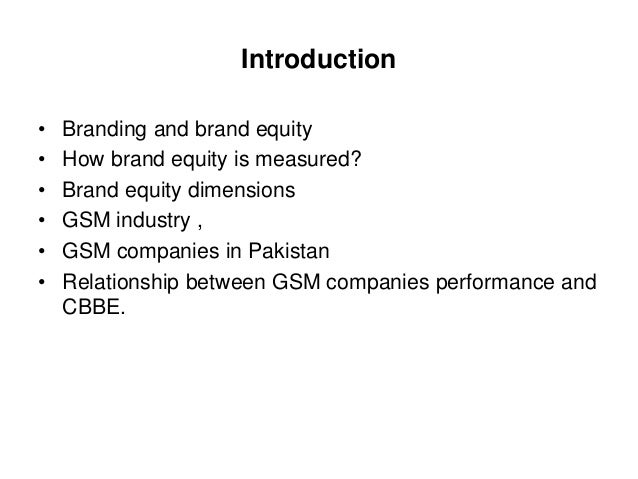 "branding in pakistan thesis The role of brand in consumer behavior business administration bachelor""s thesis 411 celebrity branding."