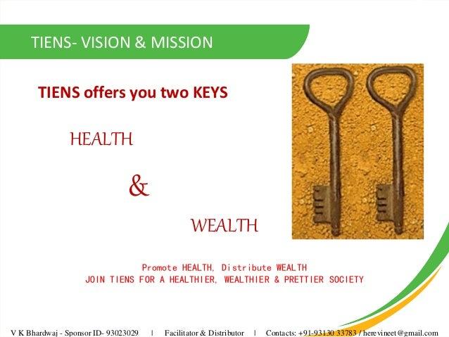Presentation Tiens india