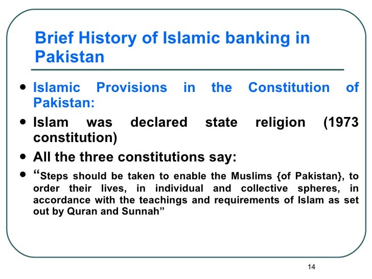 what is islamic banking in pakistan