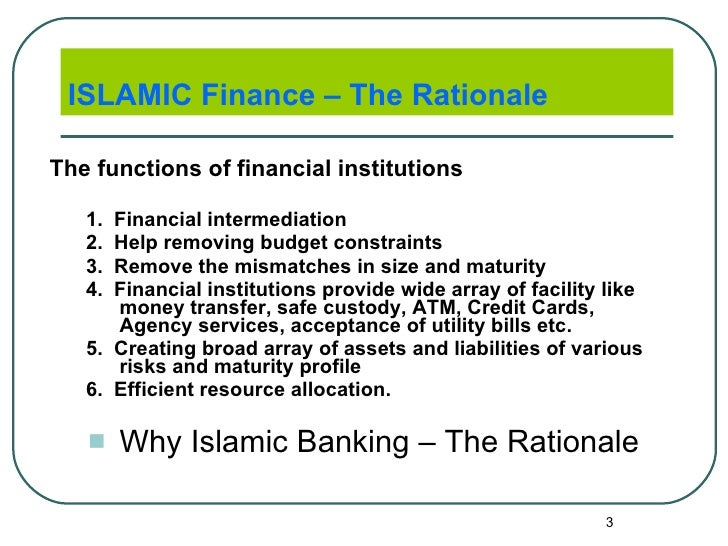 Thesis about islamic finance