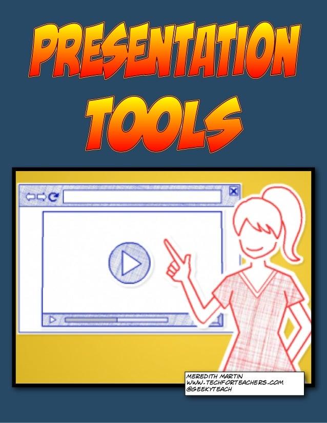 Meredith Martin www.techforteachers.com @geekyteach