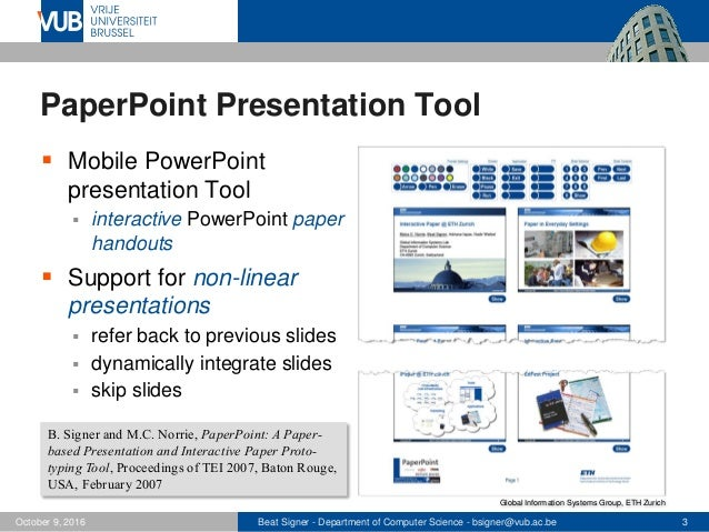 From PaperPoint to MindXpres - Towards Enhanced Presentation