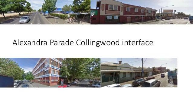 Alexandra Parade  Fitzroy interface