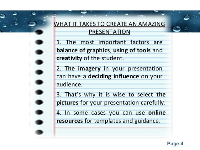 presentation topics for college students powerpoint templates page 3 4 powerpoint templates page 4 what it takes to create an amazing presentation