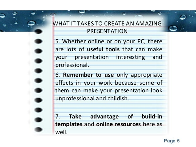 presentation topics for college students 5