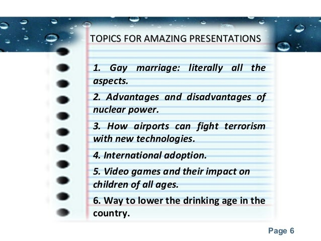 interesting topics for presentations presentation zen slide design  presentation topics for college students 6 powerpoint templates page 6 topics for amazing presentationstopics for amazing