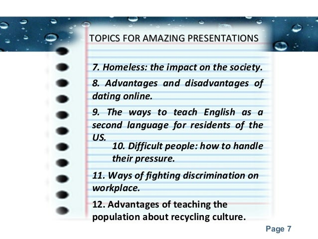 presentation topics for college students 7 powerpoint templates page 7 topics for amazing presentationstopics for amazing presentations