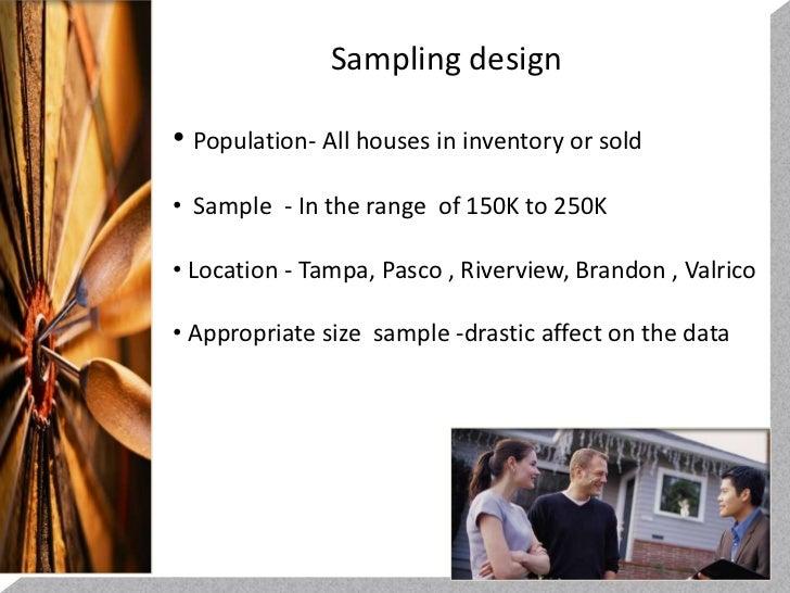 Statistical Analysis Real Estate Market