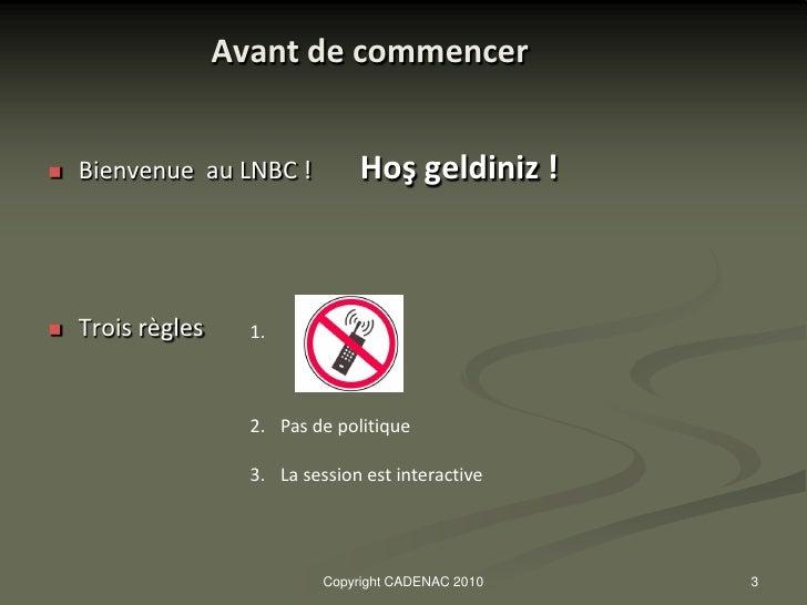 Presentation_Marché TURC_déc.2010_1°partie Slide 3