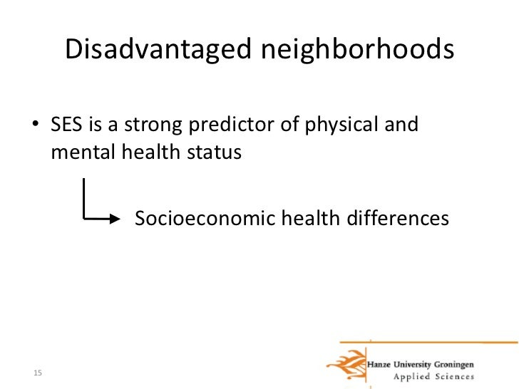 What does it mean to be socioeconomically disadvantaged?