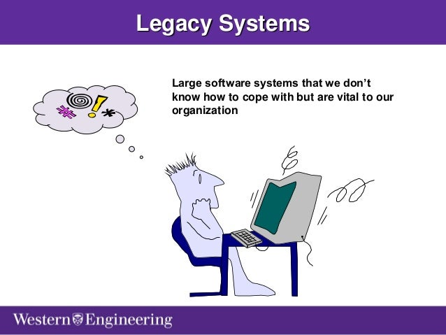 Software Evolution: From Legacy Systems, Service Oriented Architectur…