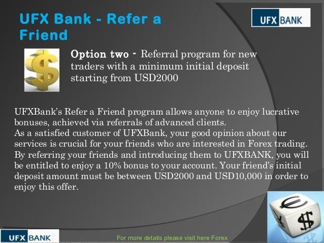 Forex referral program