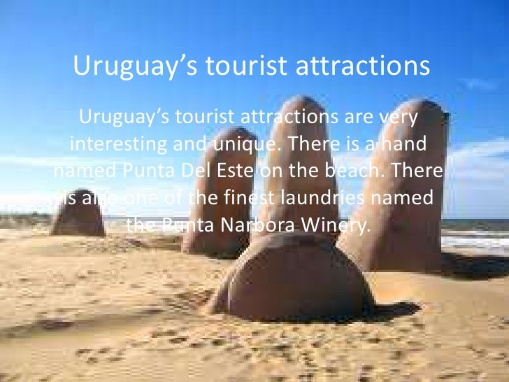 Presentation uruguay – Uruguay Tourist Attractions Map