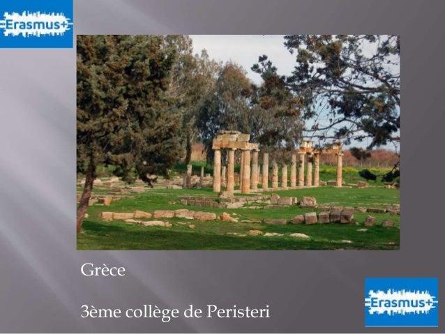 Grèce 3ème collège de Peristeri