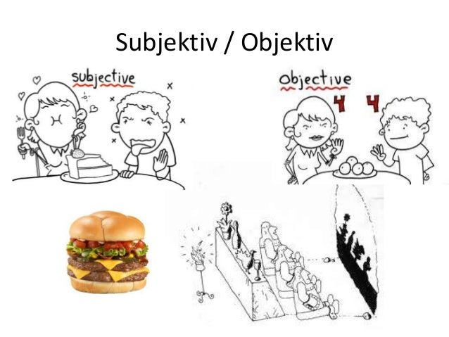 subjektiv og objektiv