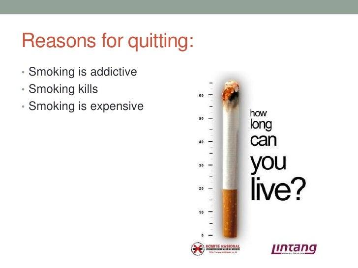 Presentation about smoking