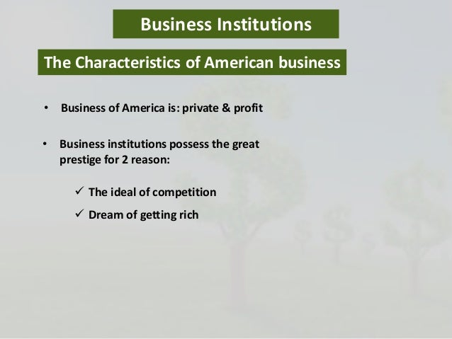 the american dream characteristics