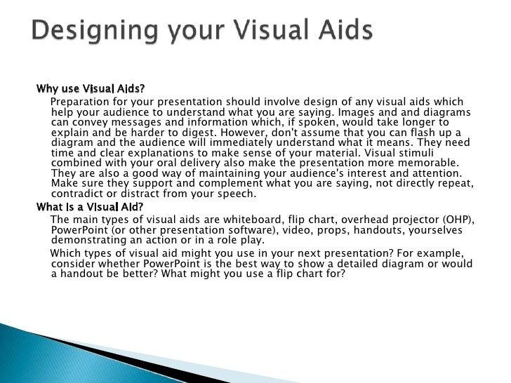 Presentation & visual aids software