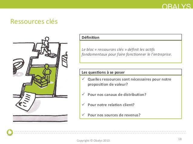 OBALYSRessources clés 18 Le bloc « ressources clés » définit les acJfs fondamentaux pour faire...