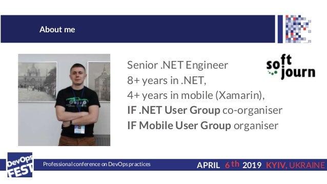 DevOps Fest 2019. Володимир Кімак. Mobile CI/CD. Cross-platform app approach Slide 2
