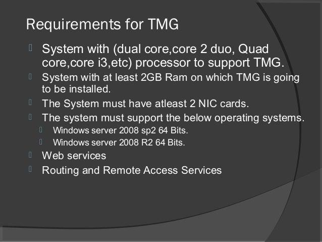 Site to Site VPN Using TMG Firewall  University Final