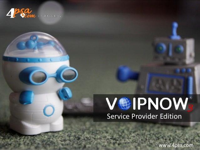 Service Provider Edition                www.4psa.com