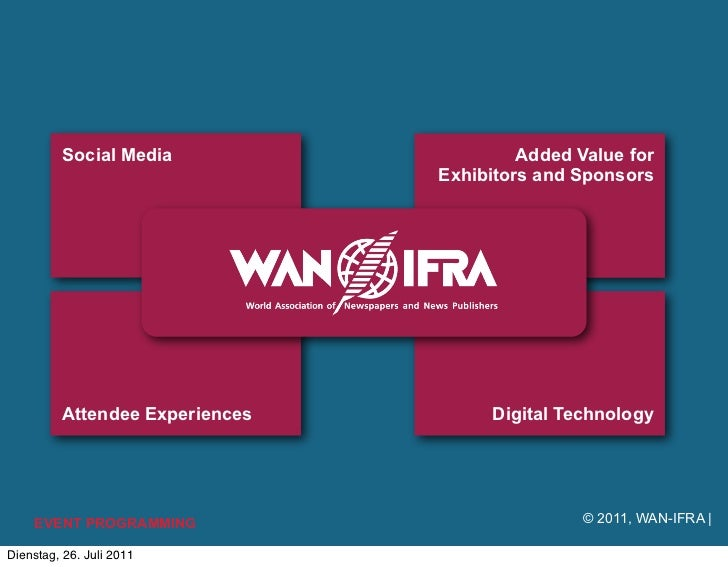 Social Media                    Added Value for                                 Exhibitors and Sponsors          Attendee ...