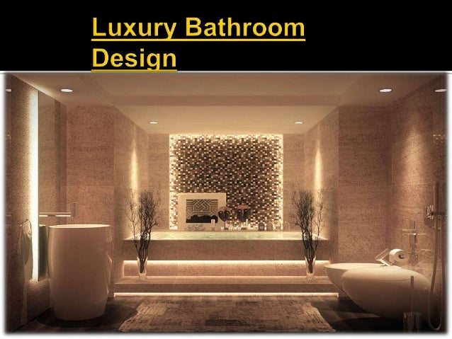 Presentation washroom design