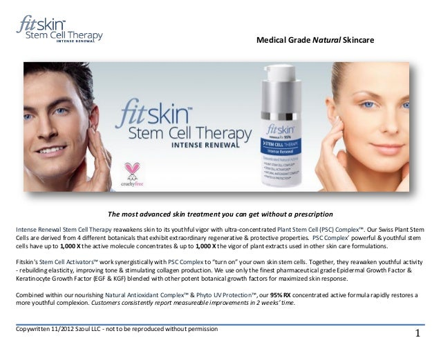 Medical Grade Natural Skincare                                 The most advanced skin treatment you can get without a pres...