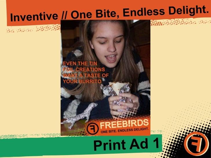 Freebirds Student Ad Campaign