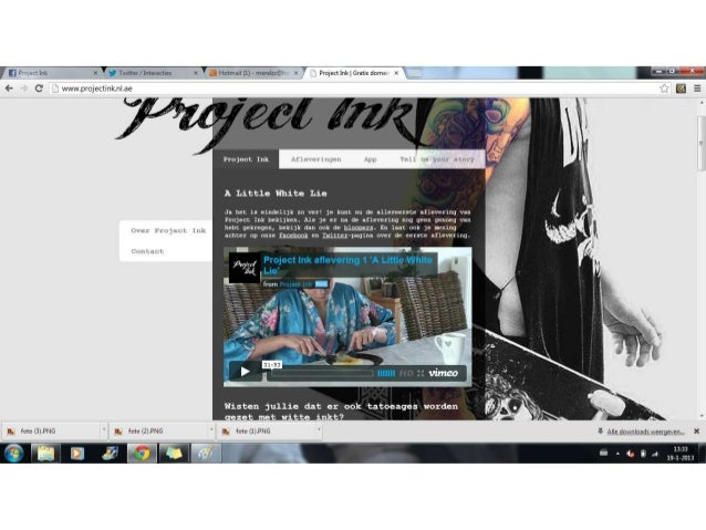 Project Ink, website