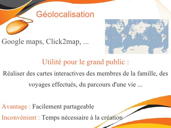 Consultation de wikipedia ou google maps