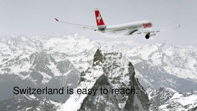 Switzerland Convention & Incentive Bureau  - MICE Presentation Slide 3