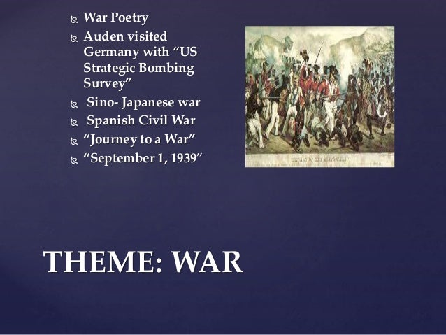 War of the Worlds: Theme