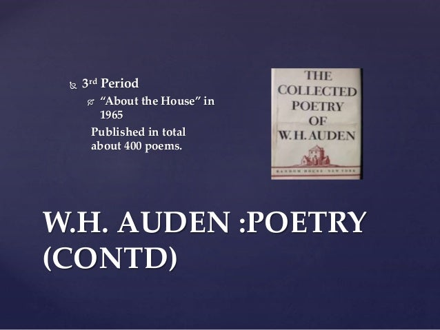 w h auden themes O what is that sound which so thrills the ear / down in the valley drumming o what is that sound w h auden language and themes.
