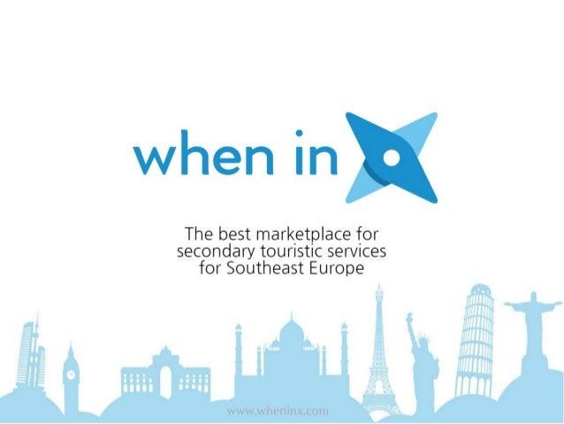 Presentation WhenInX Macedonia