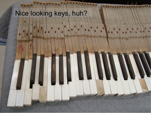 Piano Keytop Replacement Slide 3