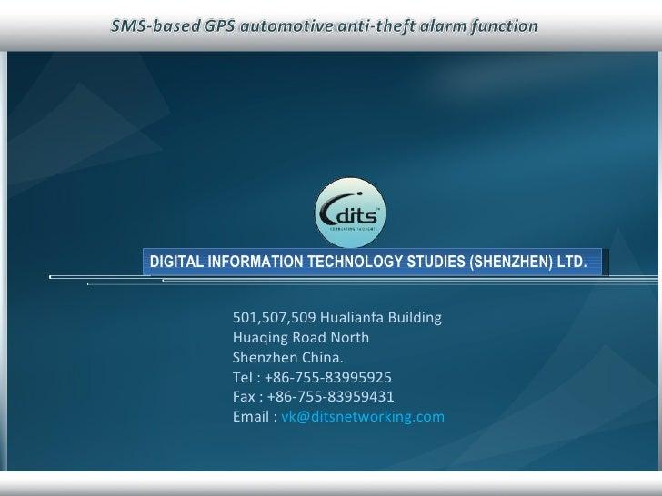 501,507,509 Hualianfa Building Huaqing Road North Shenzhen China. Tel : +86-755-83995925 Fax : +86-755-83959431 Email :  [...