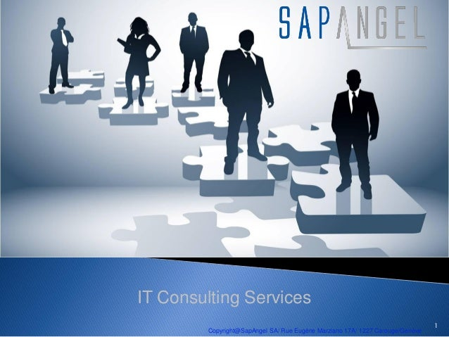 IT Consulting Services                                                                              1        Copyright@Sap...
