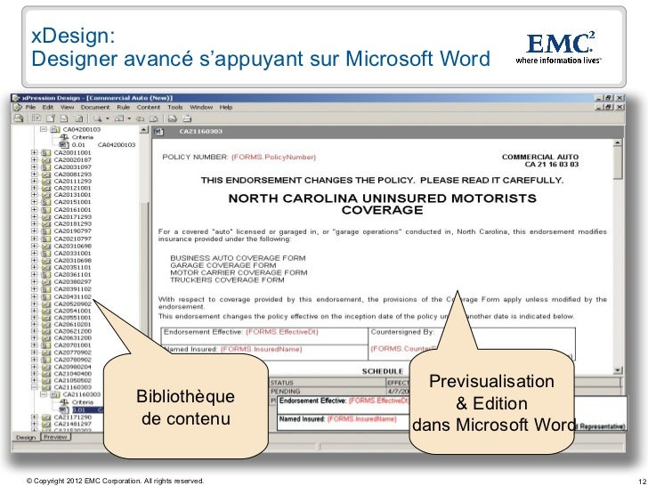 EMC Document sciences