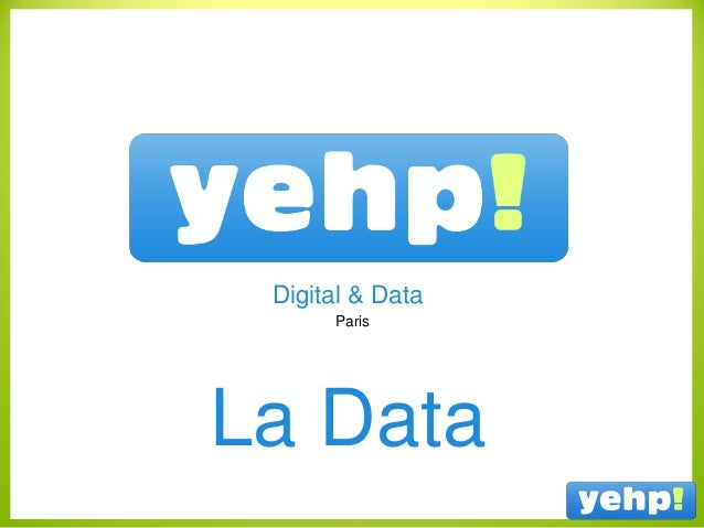 Paris Digital & Data La Data