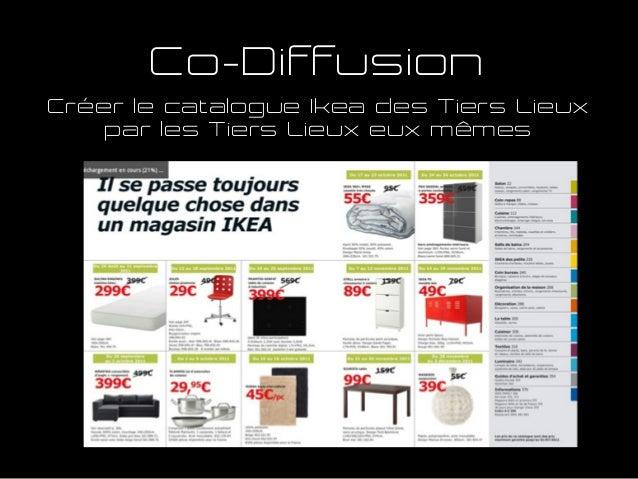 Co-Diffusion Créer le catalogue Ikea des Tiers Lieux par les Tiers Lieux eux mêmes