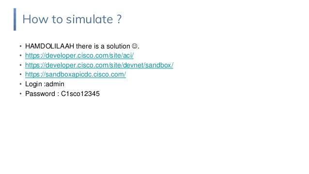 how to simulate ACI