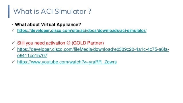 cisco aci simulator free download