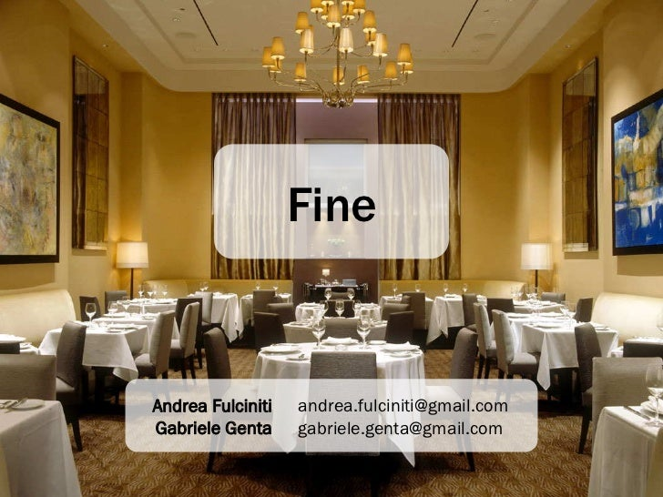 Giovanni 39 s restaurant - Rischi in cucina ppt ...