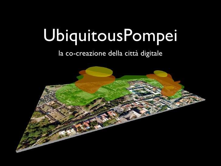 UbiquitousPompei la co-creazione della città digitale