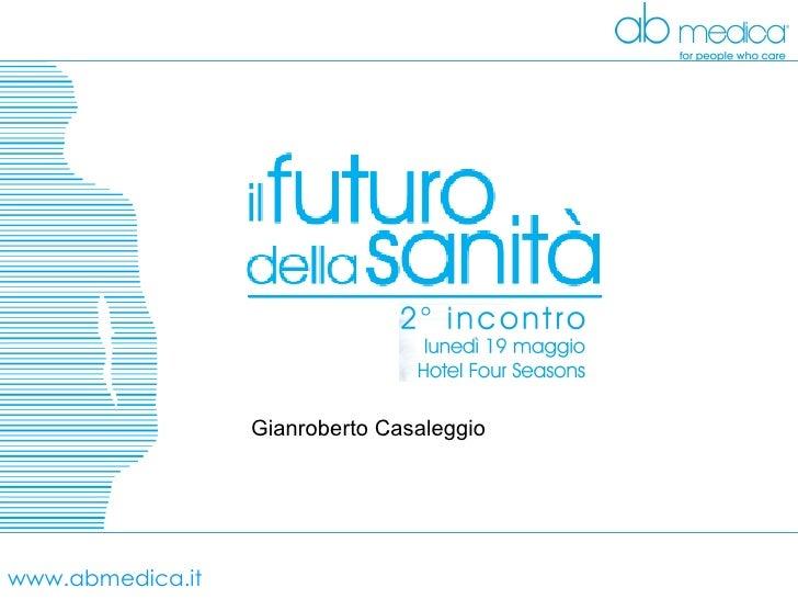 www.abmedica.it Gianroberto Casaleggio