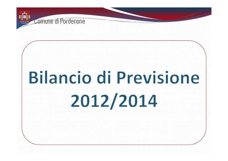 1 – Le premesse  Il contesto nazionale che ha portato  alla definizione dei contenuti salienti             del Bilancio 20...